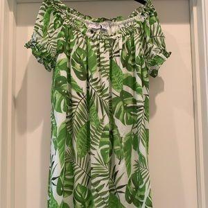 Adorable cute Tropical print summer dress